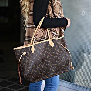 Brand new Louis Vuitton neverfull mm